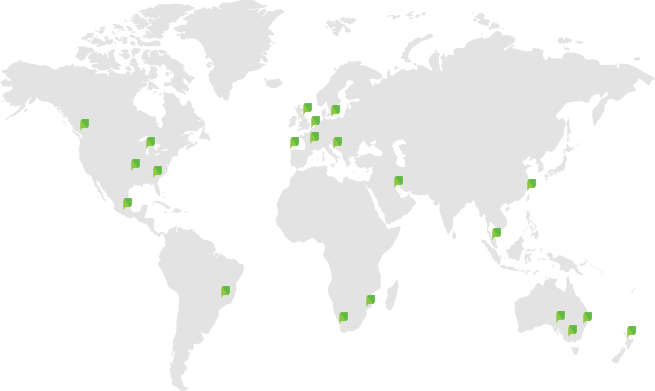 PaperCut's global team around the world.