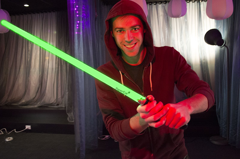 Win a PaperCut Lightsaber!
