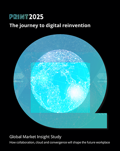 Quocirca Global Print 2025 Report cover