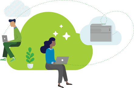 PaperCut cloud and print overview