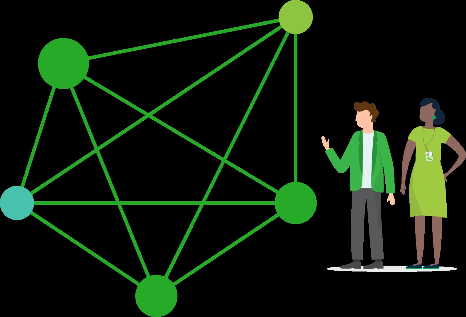 Self-healing Edge Mesh network
