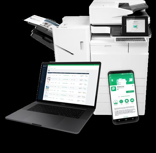 PaperCut enterprise print management solution