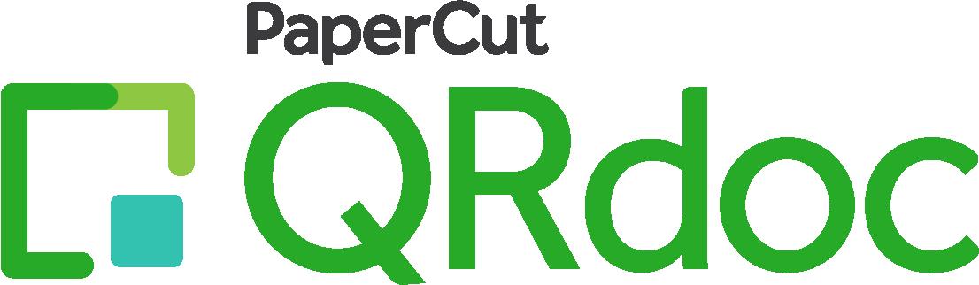 PaperCut QRdoc product logo