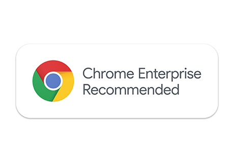 Chrome Enterprise Recommended badge