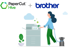 Project Brother app for PaperCut Hive