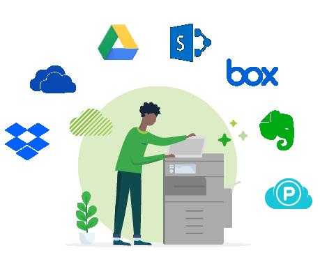 PaperCut MF cloud providers