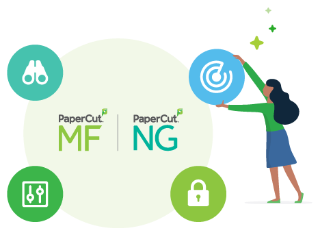 PaperCut MF and Print Deploy is the all in one Print mangement package